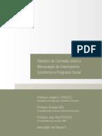 Mensuração de Desempenho Econômico e Progresso Social STIGLITZ e SEN