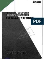 Casio Fx850p