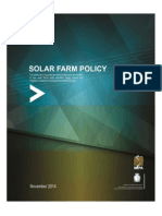 Solar Farm Policy - Public Consultation Draft