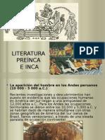 LITERATURA Preinca Inca