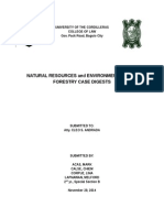NAT RES DIGESTS Forestry Cases