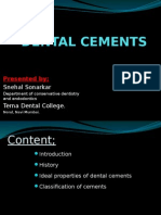6. Dental Cements