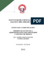 Modulo Lenguaje y Comunicacion Gestion Del Riesgo