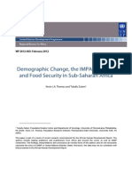 Demographic Changes IMPACT Model