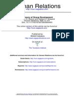 A Theory of Group Development Bennis & Sheppard