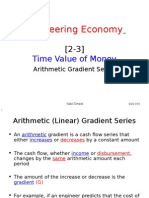 2-3 Time Value of Money - Arithmetic Gradient Series
