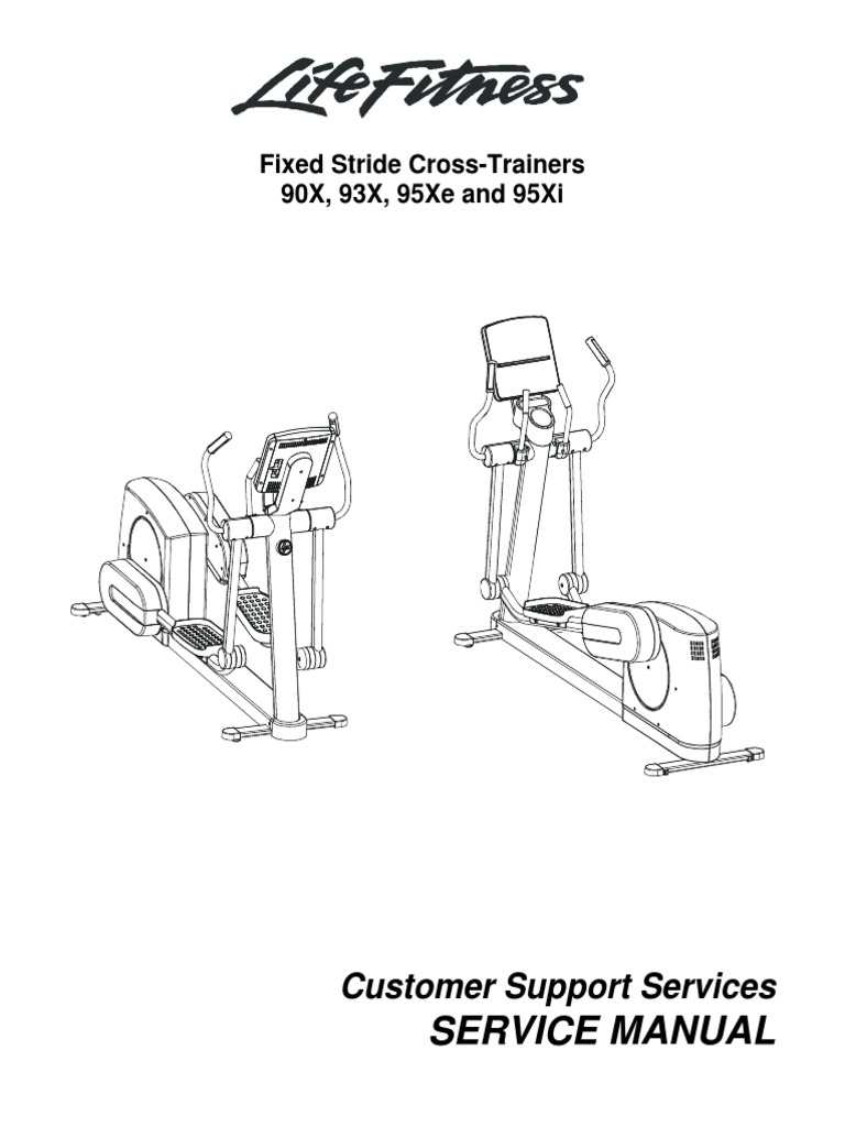 LifeFitness CT 90X 93X 95Xi 95Xe Service Manual