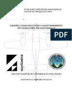 Diseño, Construcción de Una Hangar