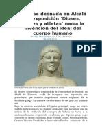2015-ExposiciónDIOSES HÉROES Y ATLETAS- MuseoAlcaláDeHenares-España-Marzo2015