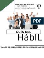 HABILIDADES SOCIALES INSERCION LABORAL Guía Del Participante - Sesión1