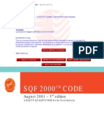 SQF 2000 CODE SQF - A HACCP Quality Code for the Food Indust