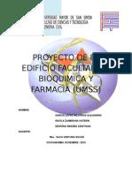Proyecto de El Edificio Facultad de Bioquimica y Farmacia