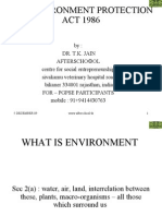 The Environment Protection Act 1986
