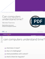 Can Computers Understand Time?