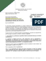 Oficio Circular No. 10-HCU-2015