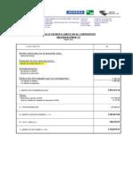 FORMATO PARA VALORIZACIONES DE OBRA -CARRETERAS