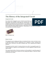 The History of the Integrated Circuit