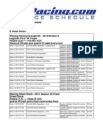 2013 Season 2 Schedule (1)