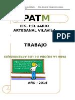 Modelo Patma Iiee Ugel Lampa - Feb - 2014