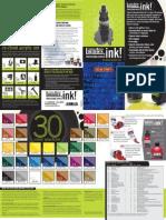 Pro Acrylic Ink Leaflet
