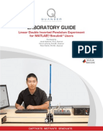 QUANSER Linear Double Inverted Pendulum - Laboratory Guide