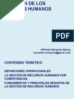 GESTIÓN DE RRHH 2015 Marquina Wilfredo