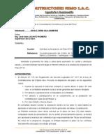 Informe Ampliacion de Plazo Nº01