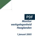 Monitor Werkgelegenheid Haaglanden