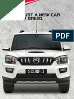 Mahindra Scorpio Brochure