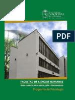 Manual Asignaturas de La Carrera de Psicologia