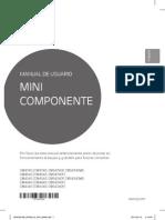 MANUAL DE USUARIO MINICOMPONENTE CM4340-AB