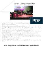 Festival de Cine La Orquídea Finalizó