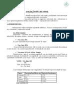 Apostila de avaliação nutricional - UNIPLAN