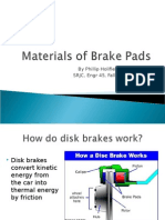 Materials of Brake Pads.ppt