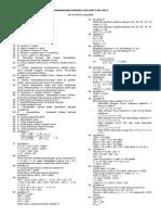 Pembahasan Prediksi 020 USM STAN 2015