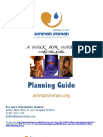 A Walk For Water Planning Guide