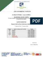 Sistem Izvođenja Nastave II Ciklusa Studija II Semestar