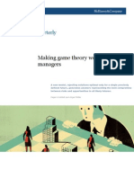 Making Game Theory Work for Managers - Mckinsey Quarterly