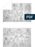 Bouncy Ball - Initial Character Designs