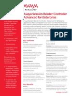 Avaya SBCAE Fact Sheet[1]