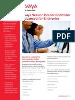 Avaya SBCAE Overview Brochure[1]