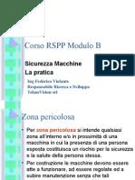 Sicurezza Macchine - 2 - Corso RSPP Modulo B