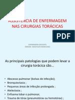Assistência de Enfermagem Nas Cirurgias Torácicas - Cópia