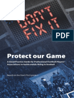 Dont Fix It - Protect Our Game