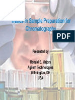 Trends in Sample Preparation for Chromatography