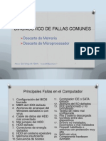 Diagnostico de Fallas Comunes