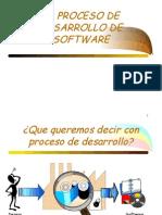 Proceso de Desarrollo Del Software