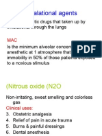 Inhalational agents
