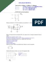 Guía Para Examen Electrónica