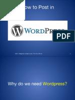 How to Use Wordpress Tutorial